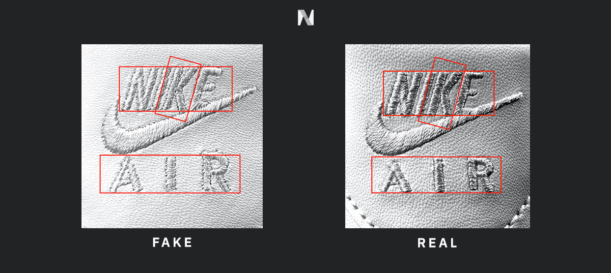 How to Spot Fake Sneakers: Air Force 1 - Novelship